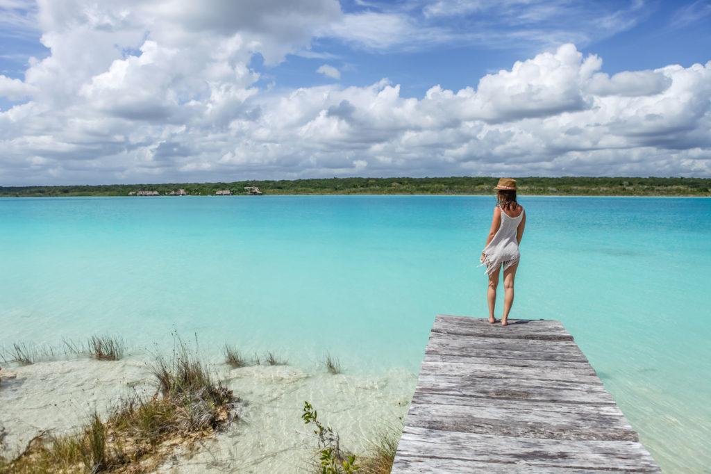 Bacalar-Yucatan-Mexique-Lagune