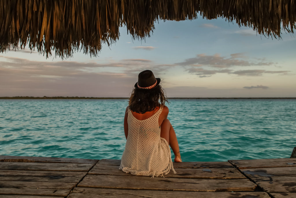 Bacalar-Yucatan-Mexique-balaçoire-sunset