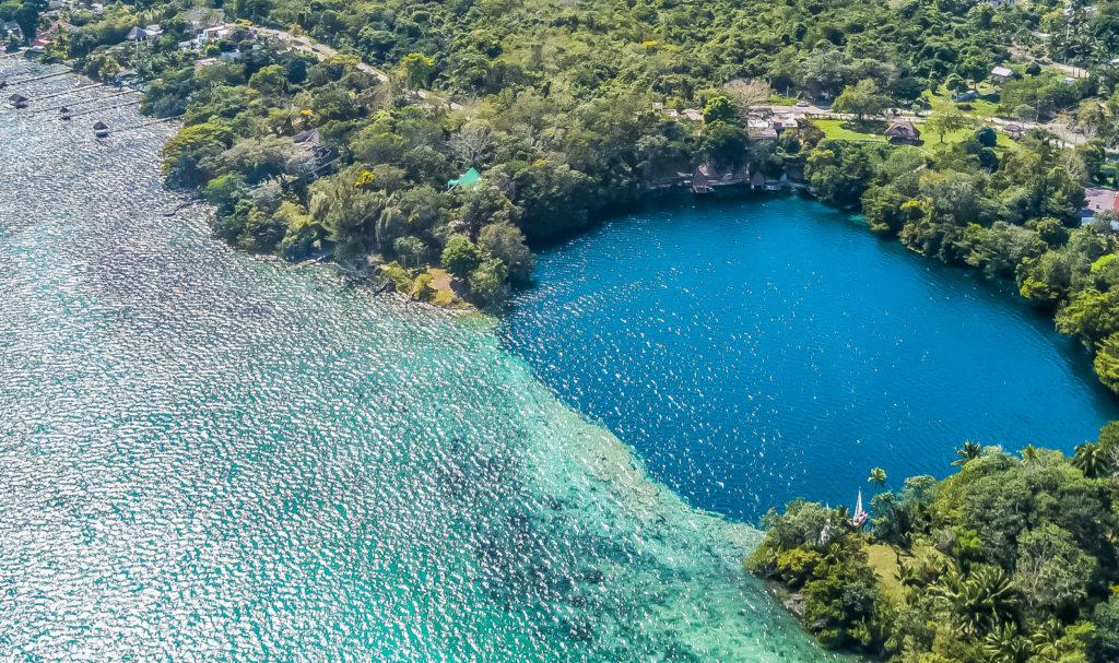 Mexique-Yucatan-Bacalar-Cenote Negro
