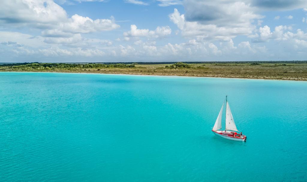 Mexique-bacalar-Lagune-Yucatan-Voilier