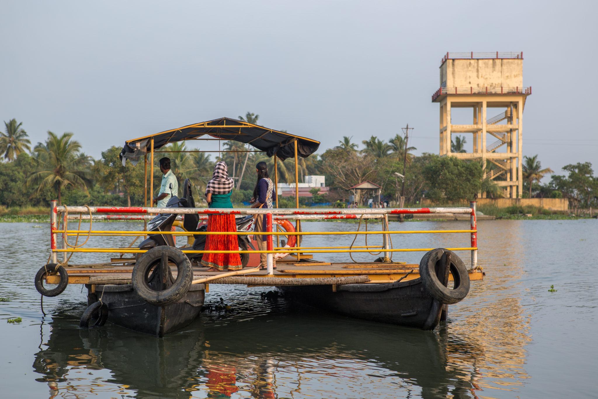 bateau-fort cochin-kerala-inde-voyage