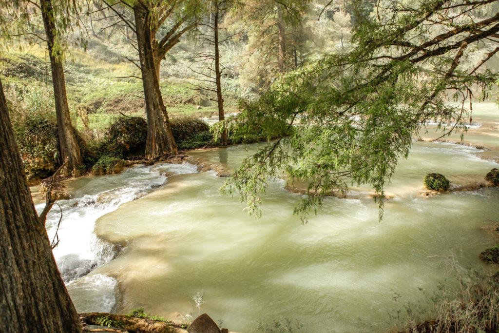 Mexique-Chiapas-Las 3 Tzimoleras-Cascade
