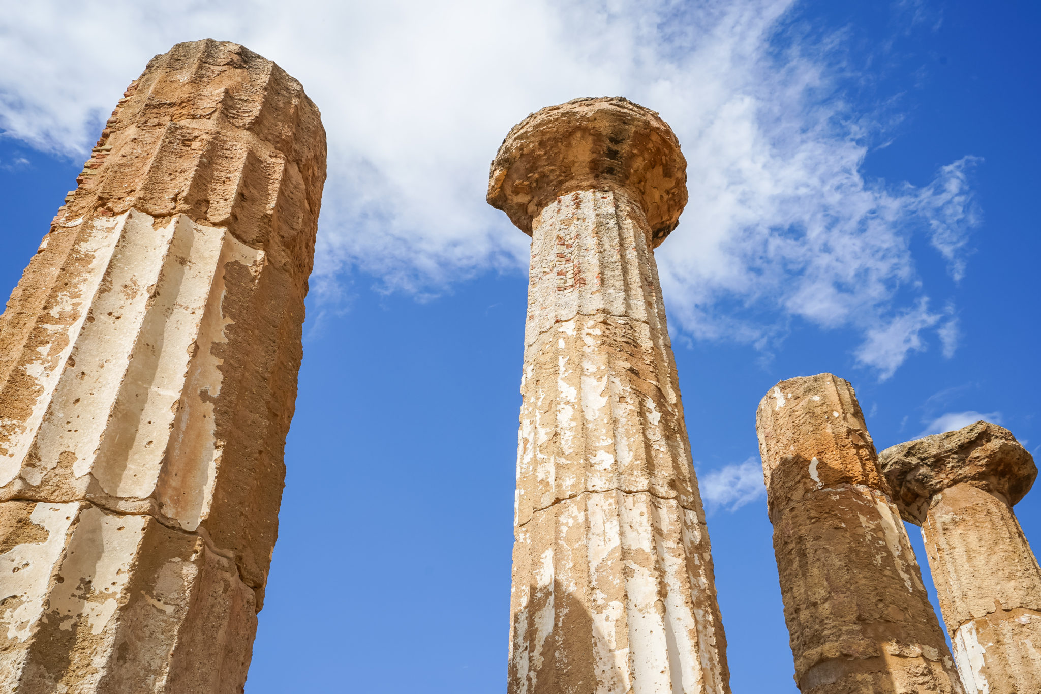 Agrigente-sicile-italie-temple-héra-vallée-histoire