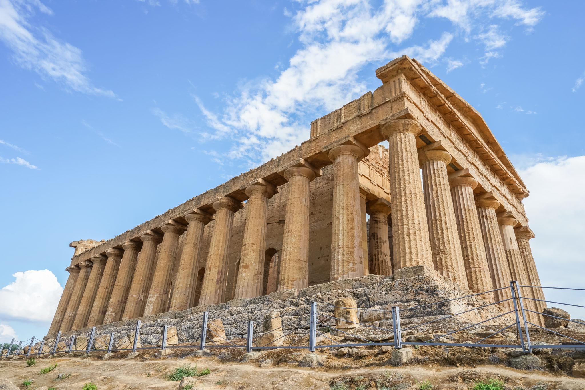 Agrigente-sicile-italie-temple