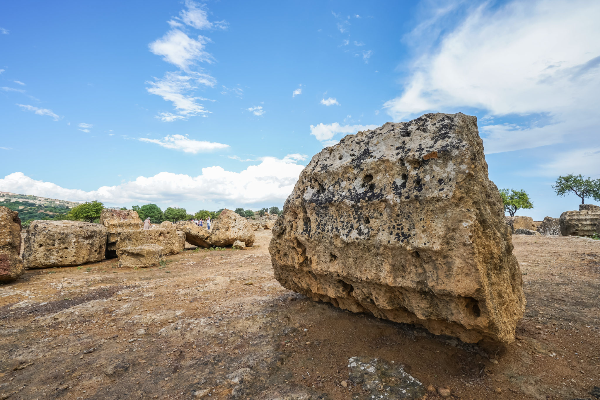 Agrigente-sicile-italie-vallée-temples-ruines