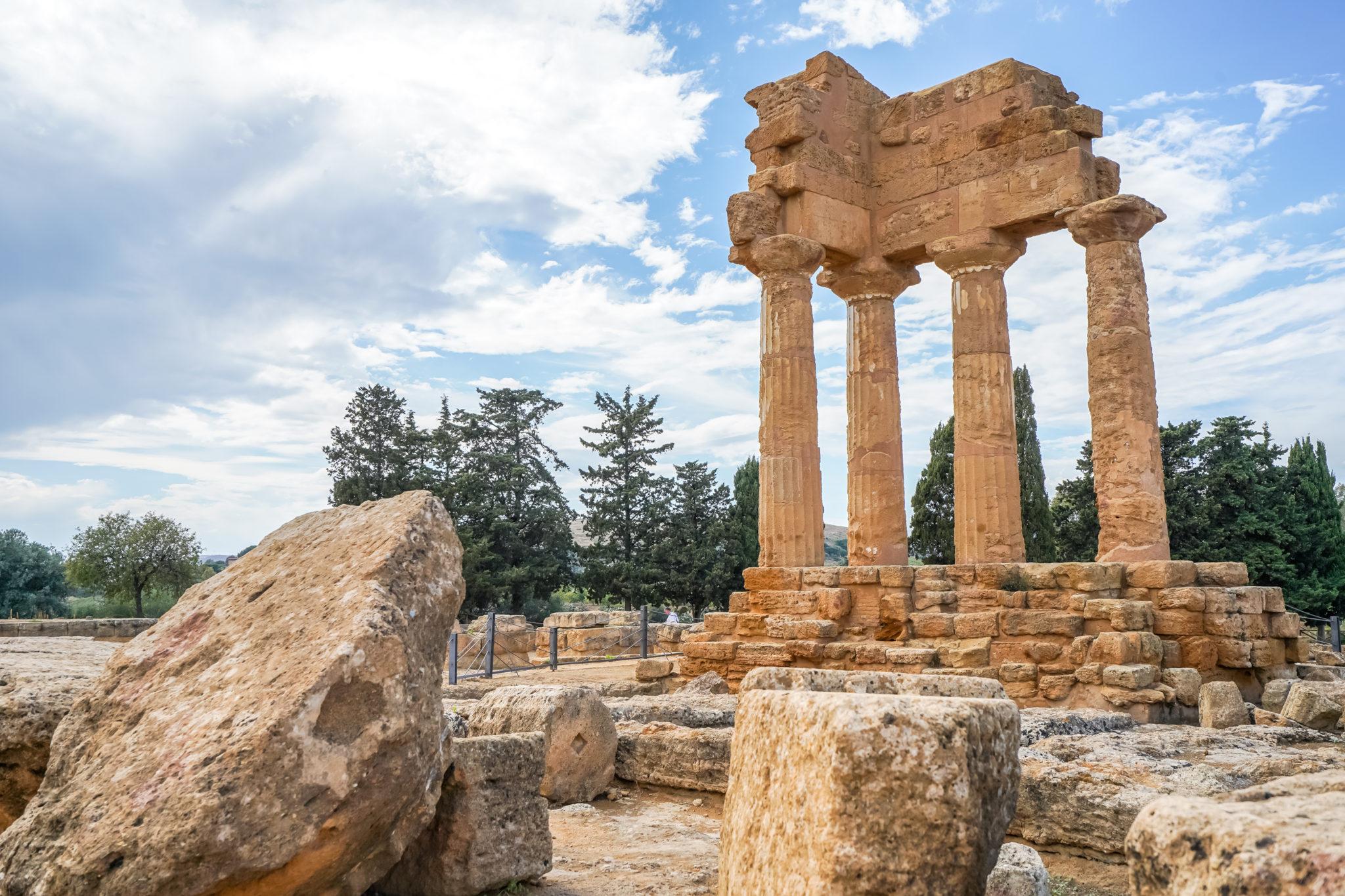 Agrigente-sicile-italie-vallée-temples