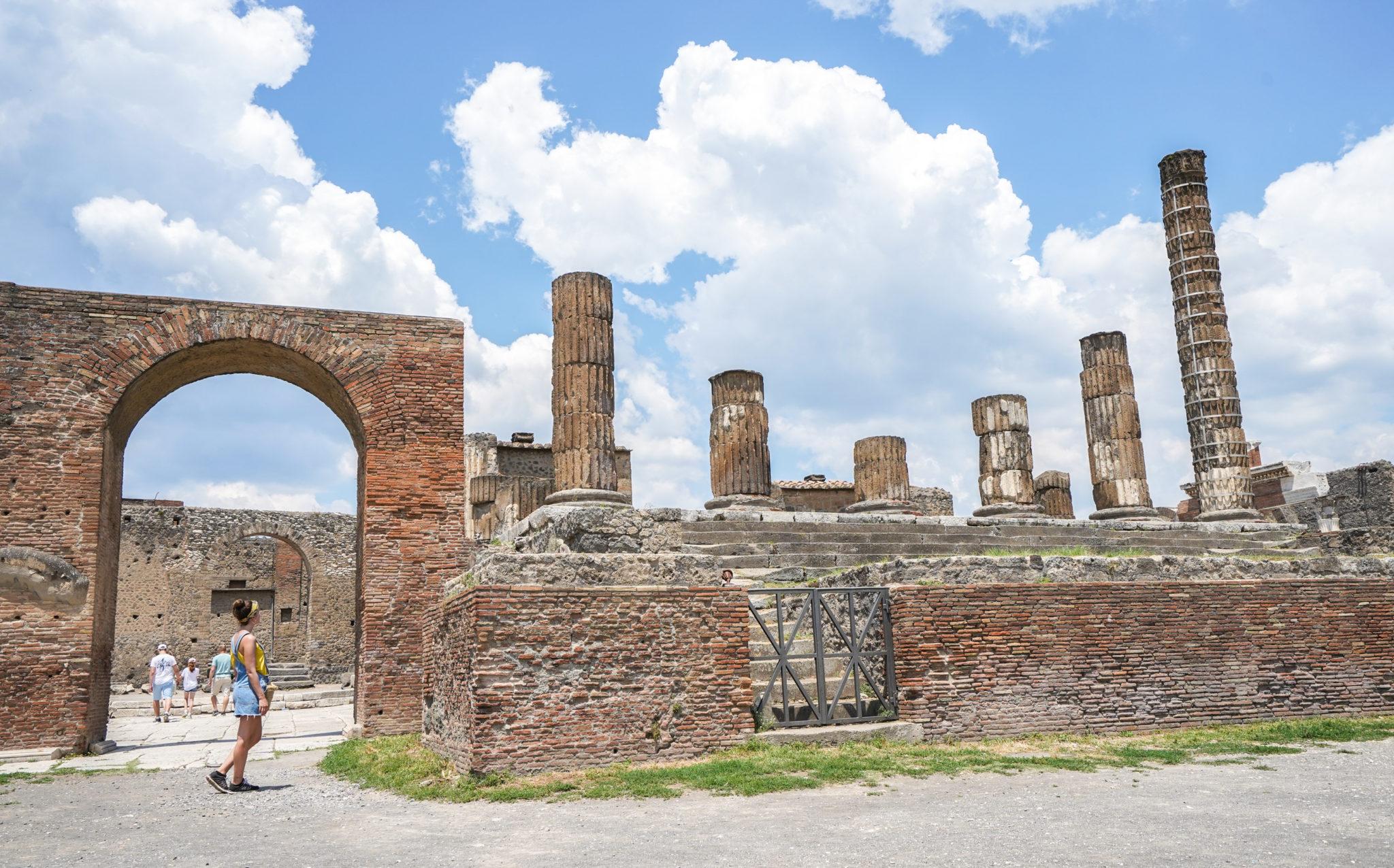 Visite-pompei-comment-forum-place-ruines