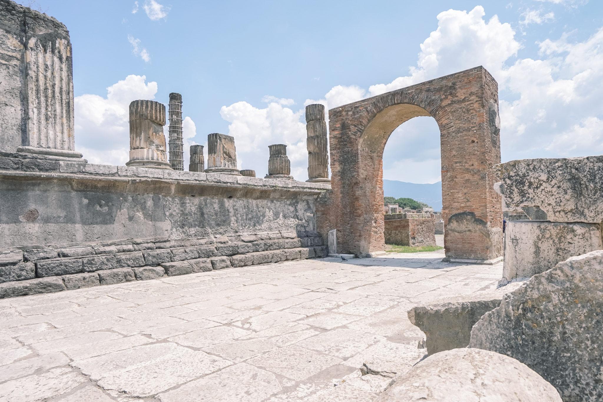 Visite-pompei-comment-forum-ruines