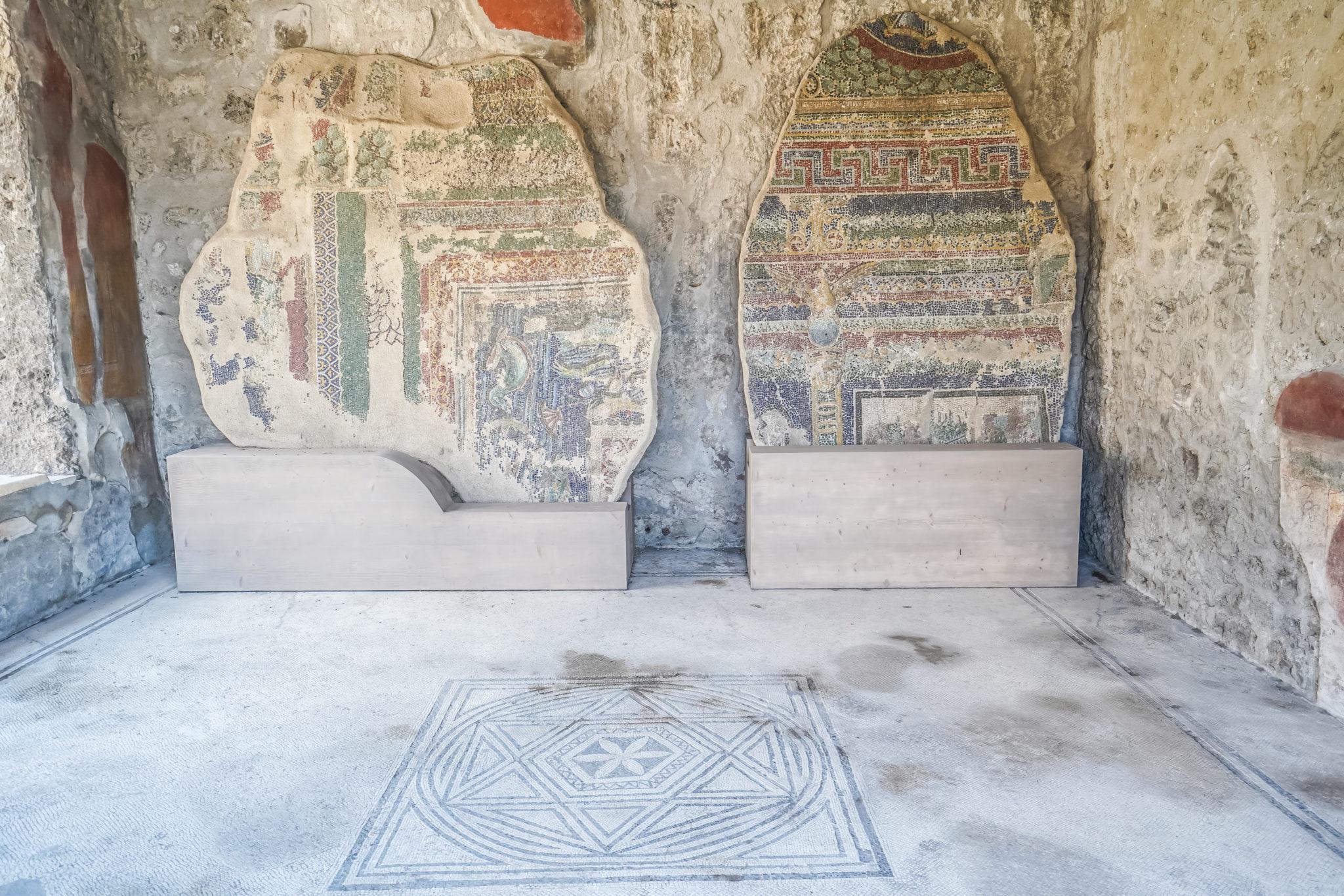 Visite-pompei-comment-maison-fresque-mozaique