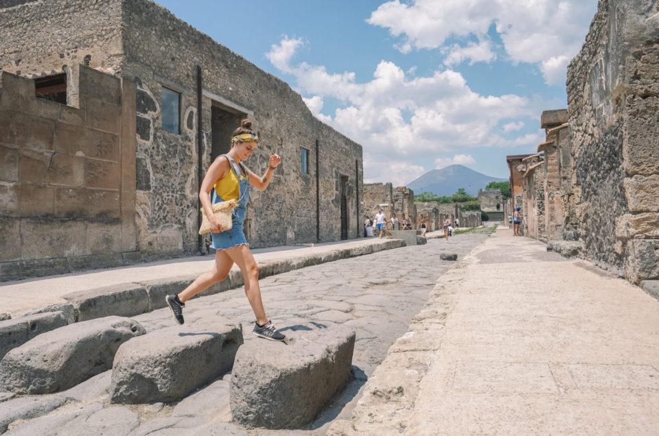 Visiter Pompei et le Vésuve