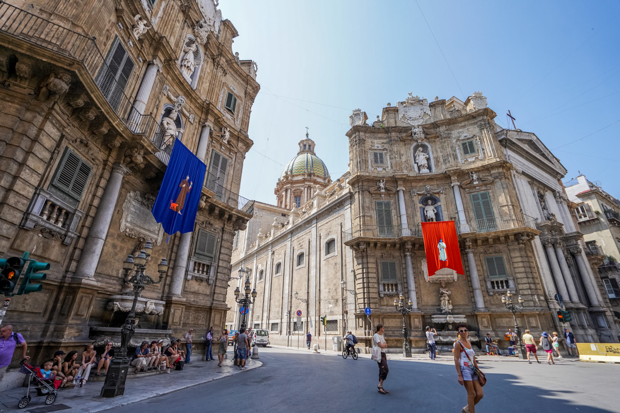 italie-sicile-palerme-visite-quattro-canti-place