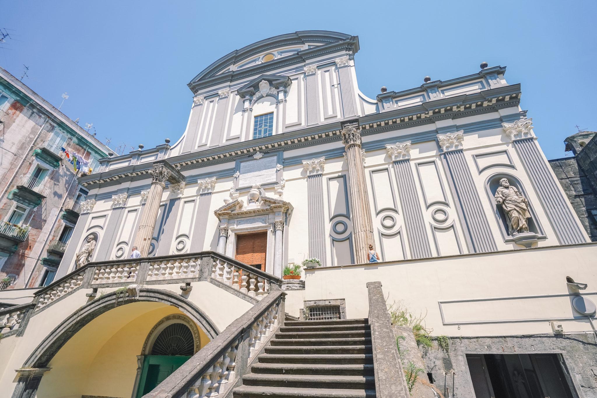 naples-visiter-city-guide-san-paolo-maggiore-basilique