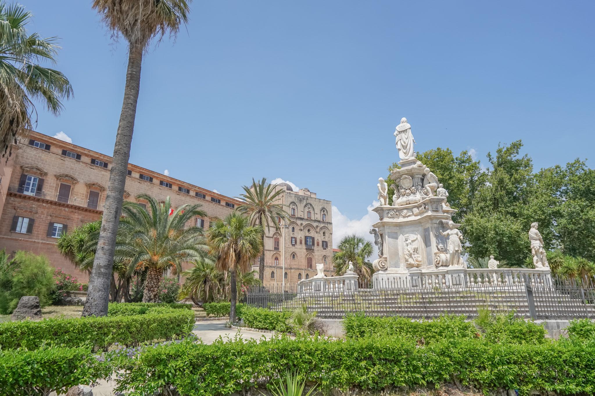 palazzio-dei-normanni-palais-normands-sicile-palerme-italie