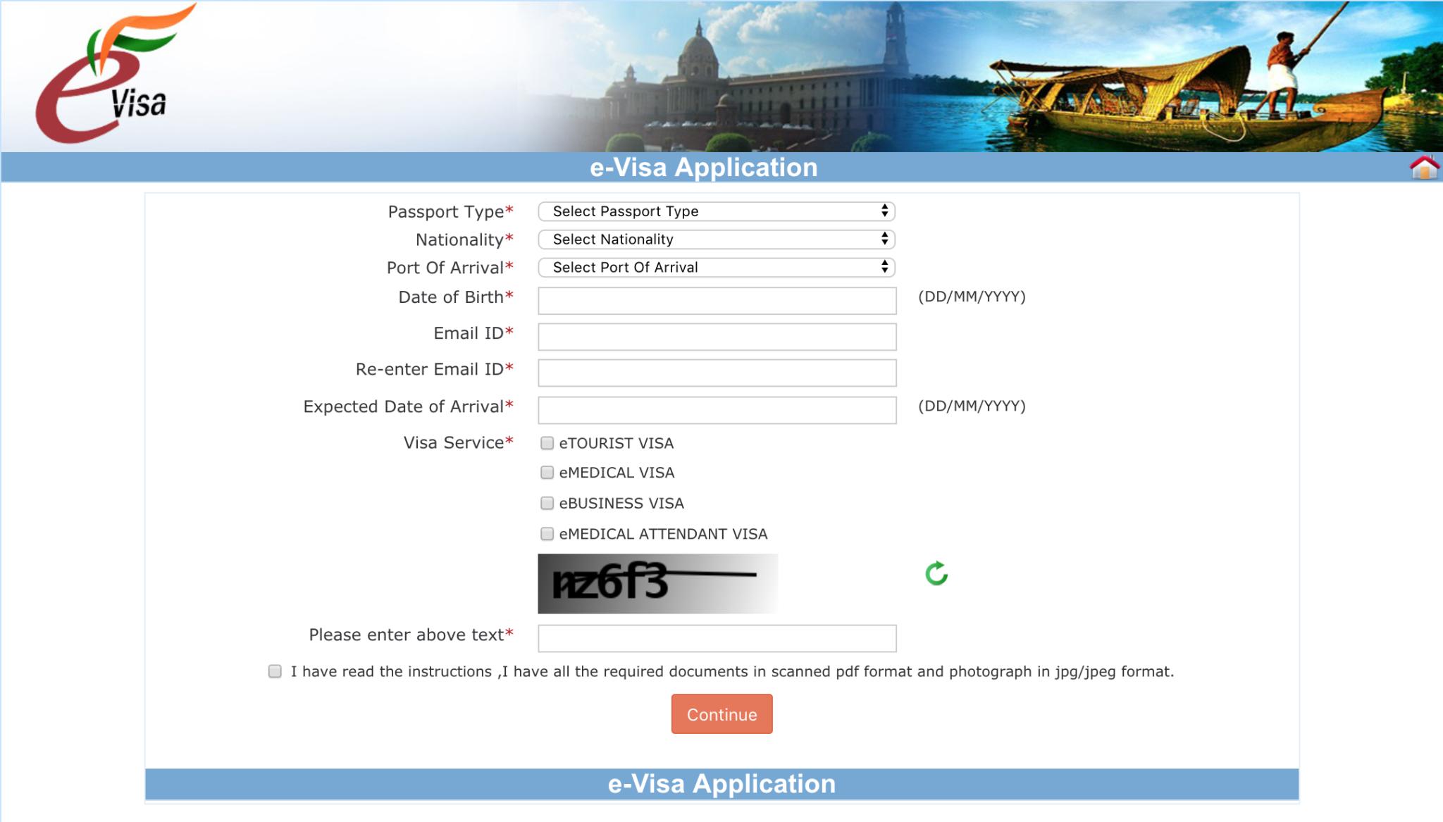 Comment-faire-démarches-visa-Inde-site-officiel-1