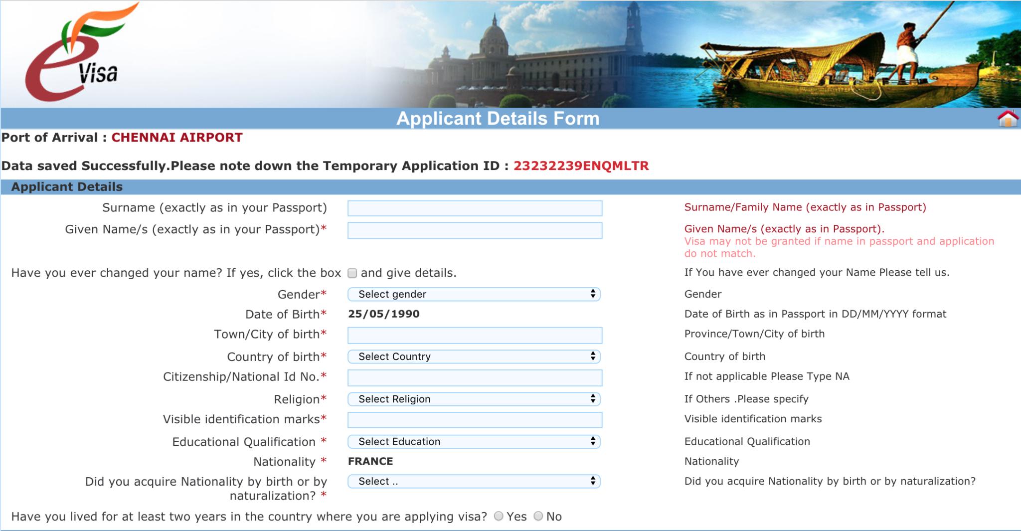 Comment-faire-démarches-visa-Inde-site-officiel-2