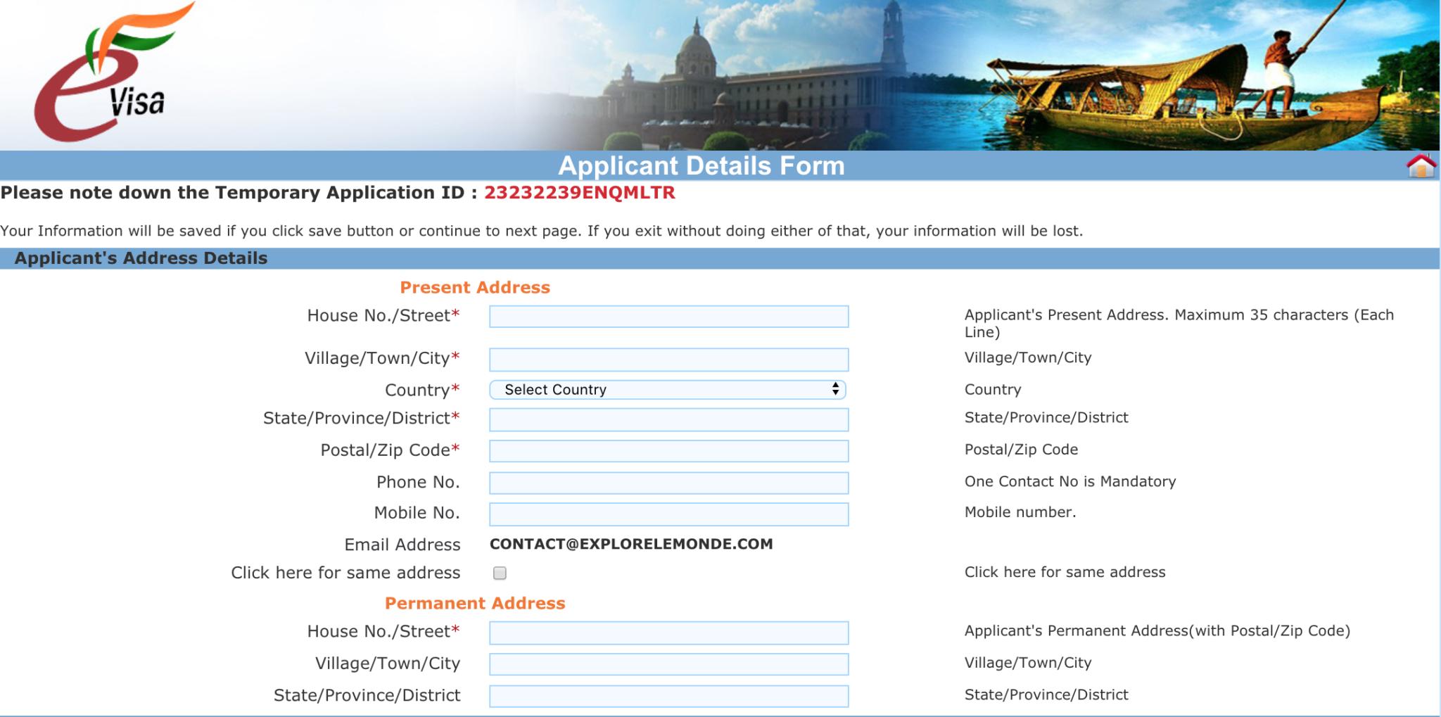 Comment-faire-démarches-visa-Inde-site-officiel-4