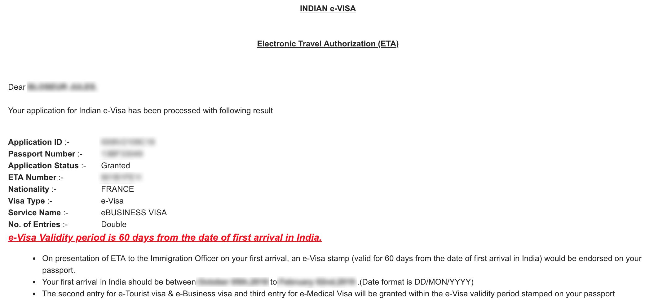 Comment-faire-démarches-visa-Inde-site-officiel-mail-confirmation