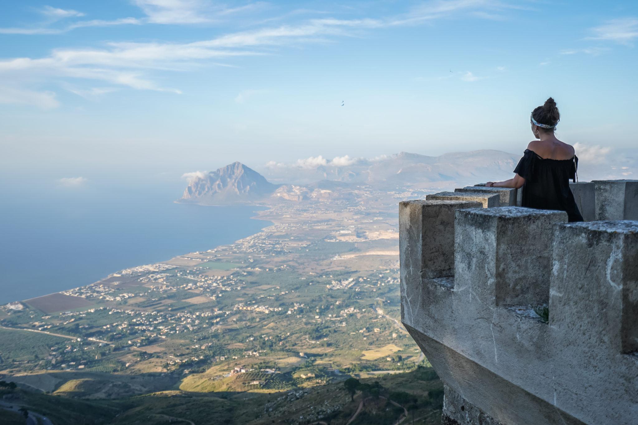 Italie-Erice-Sicile-cofano-monte