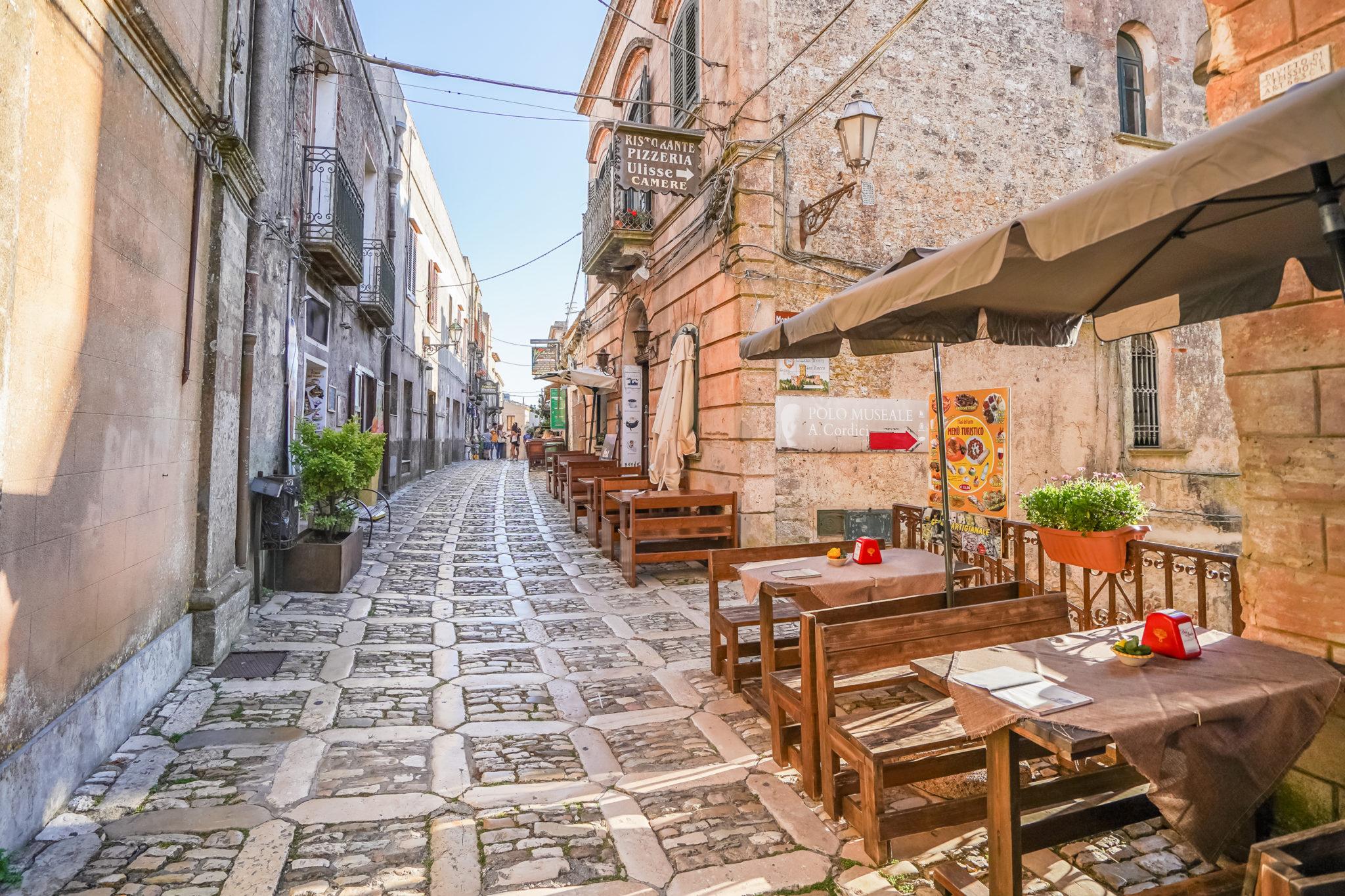 Italie-Sicile-Erice-rue