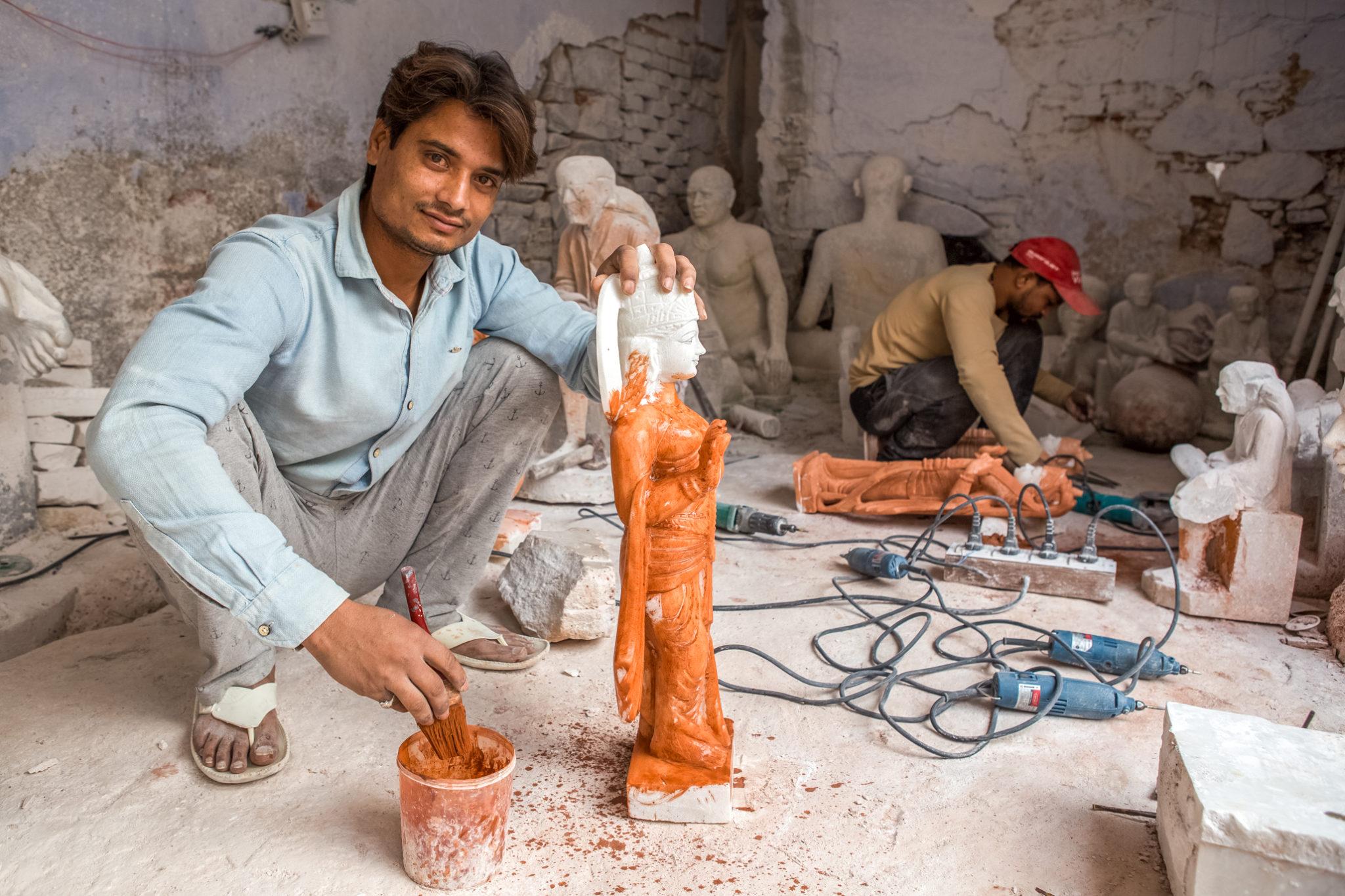 jaipur-visite-artisanat-vélo-inde