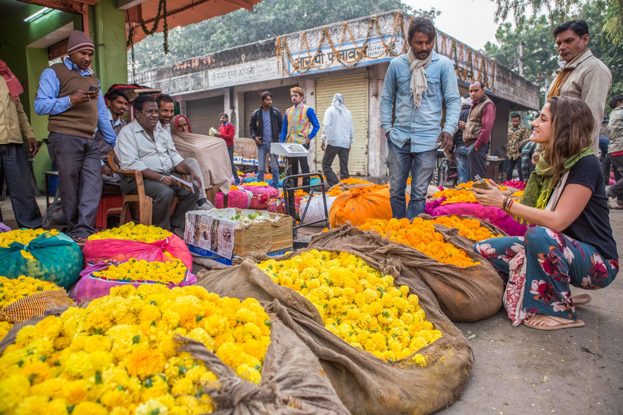 marché-jaipur-visite-vélo-inde
