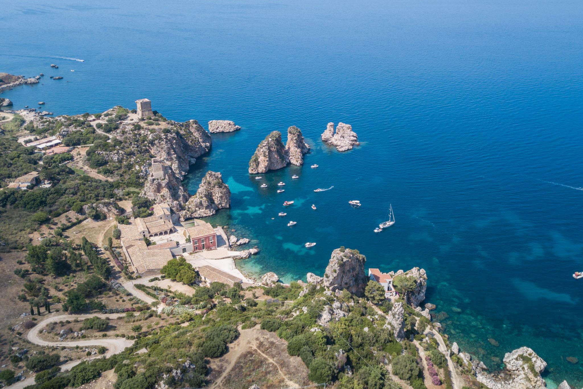 scopello-Castellammare-del-golfo-sicile-italie