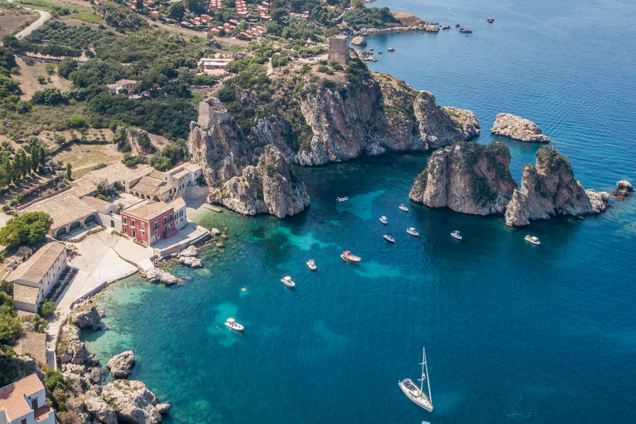 sicile-scopello-Castellammare-del-golfo-italie