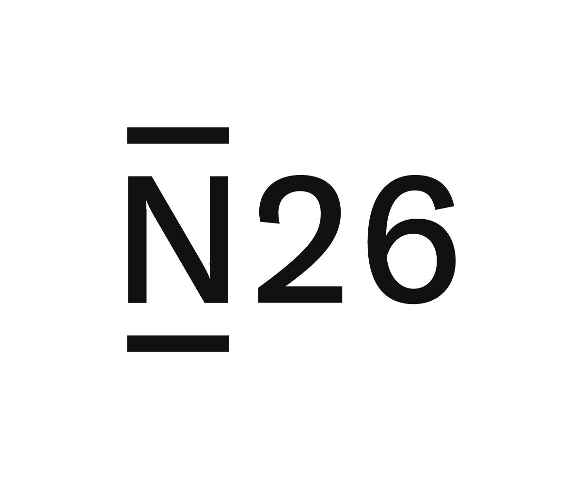 Logo de N26 la banque idéale pour voyager
