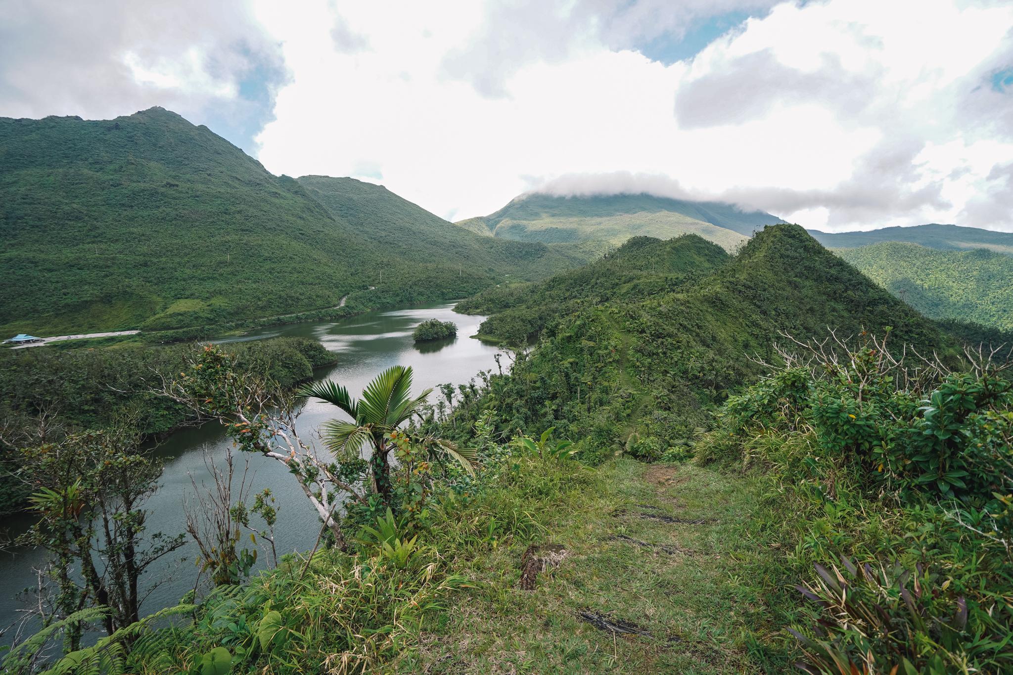 freshwater-lake-dominique-randonnée