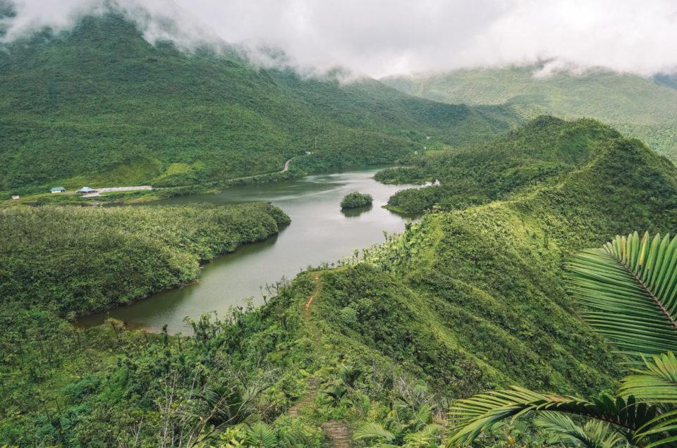 que-faire-en-dominique-freshwater-lake