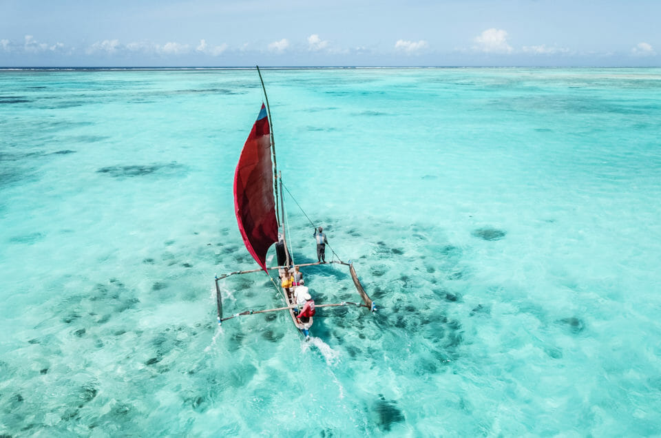 Jambiani, un village de pêcheurs à Zanzibar