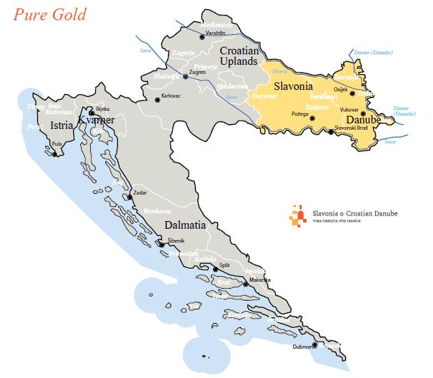 carte-slavonia-croatie-voyage