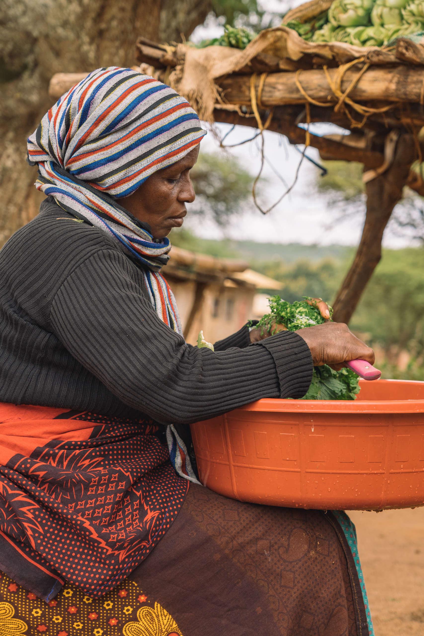 Rencontre avec les villageois de Endallah en Tanzanie