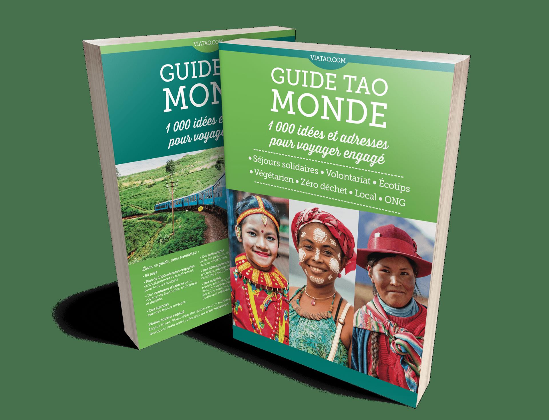 couverture du guide Tao Monde : voyager durable et engagé