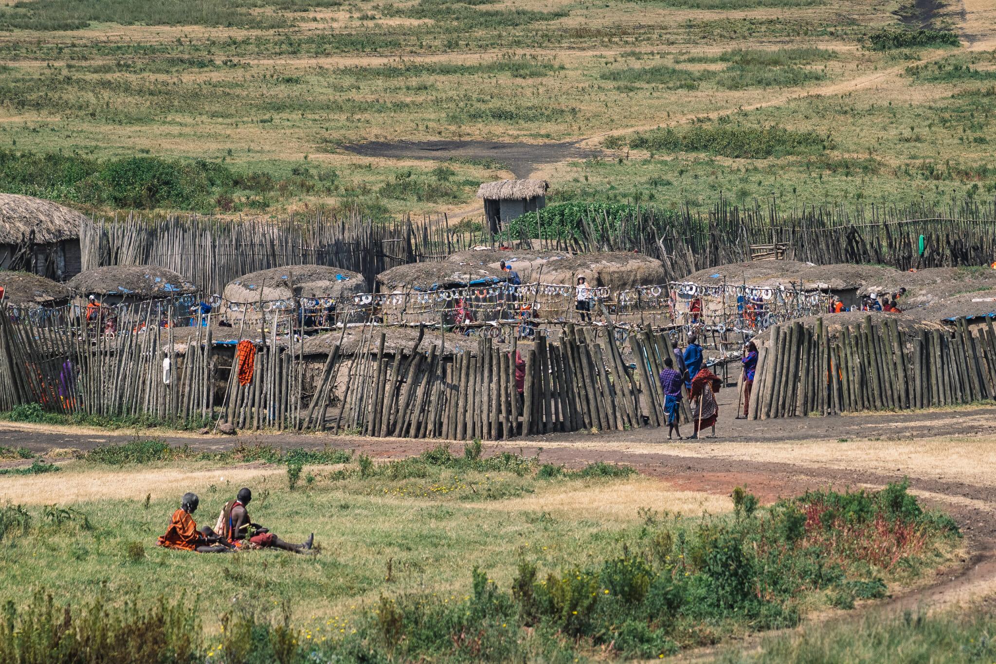 Exemple de fausse immersion en Tanzanie