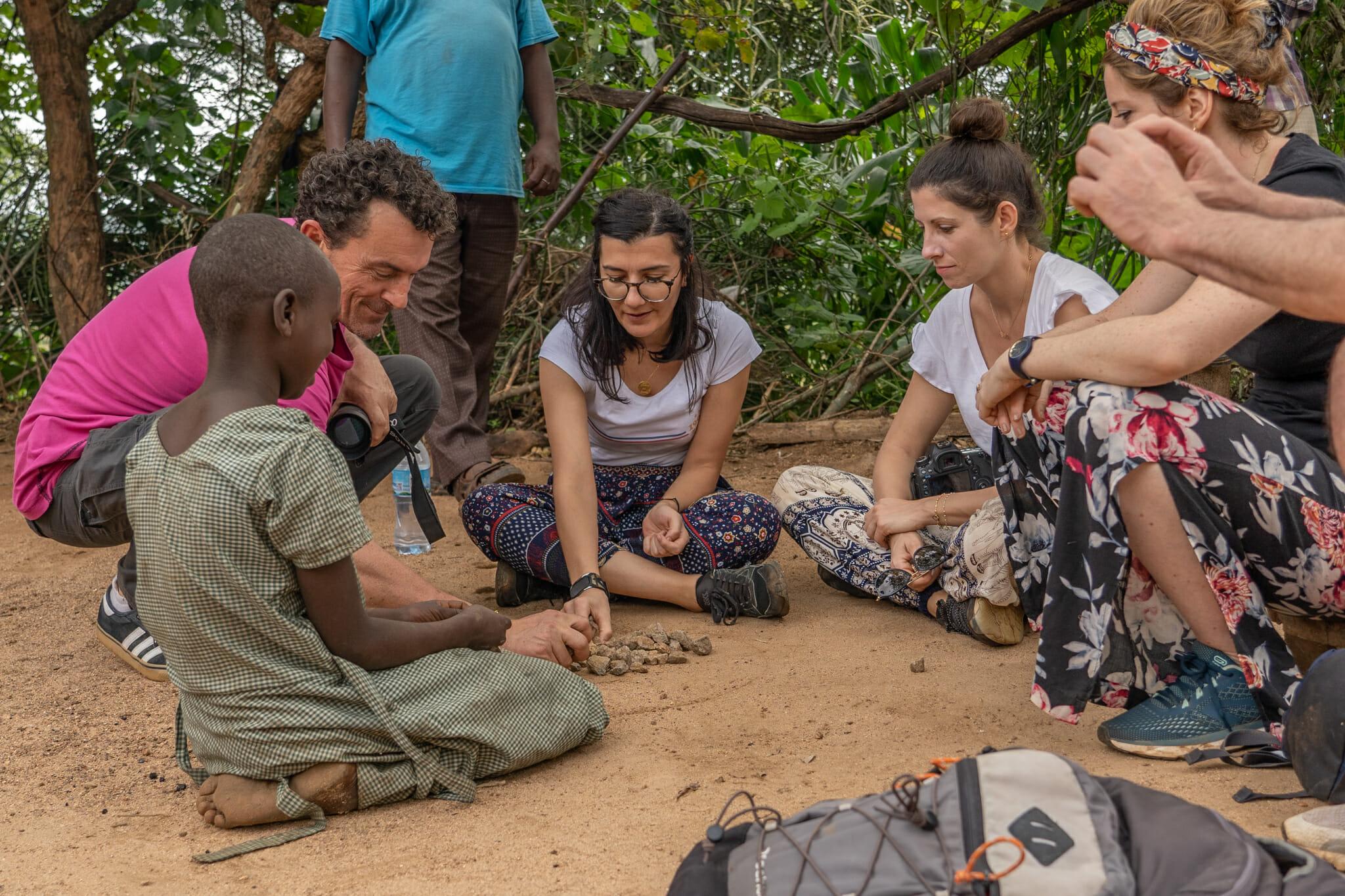 Rencontres lors de l'immersion dans le village d'Endallah en Tanzanie