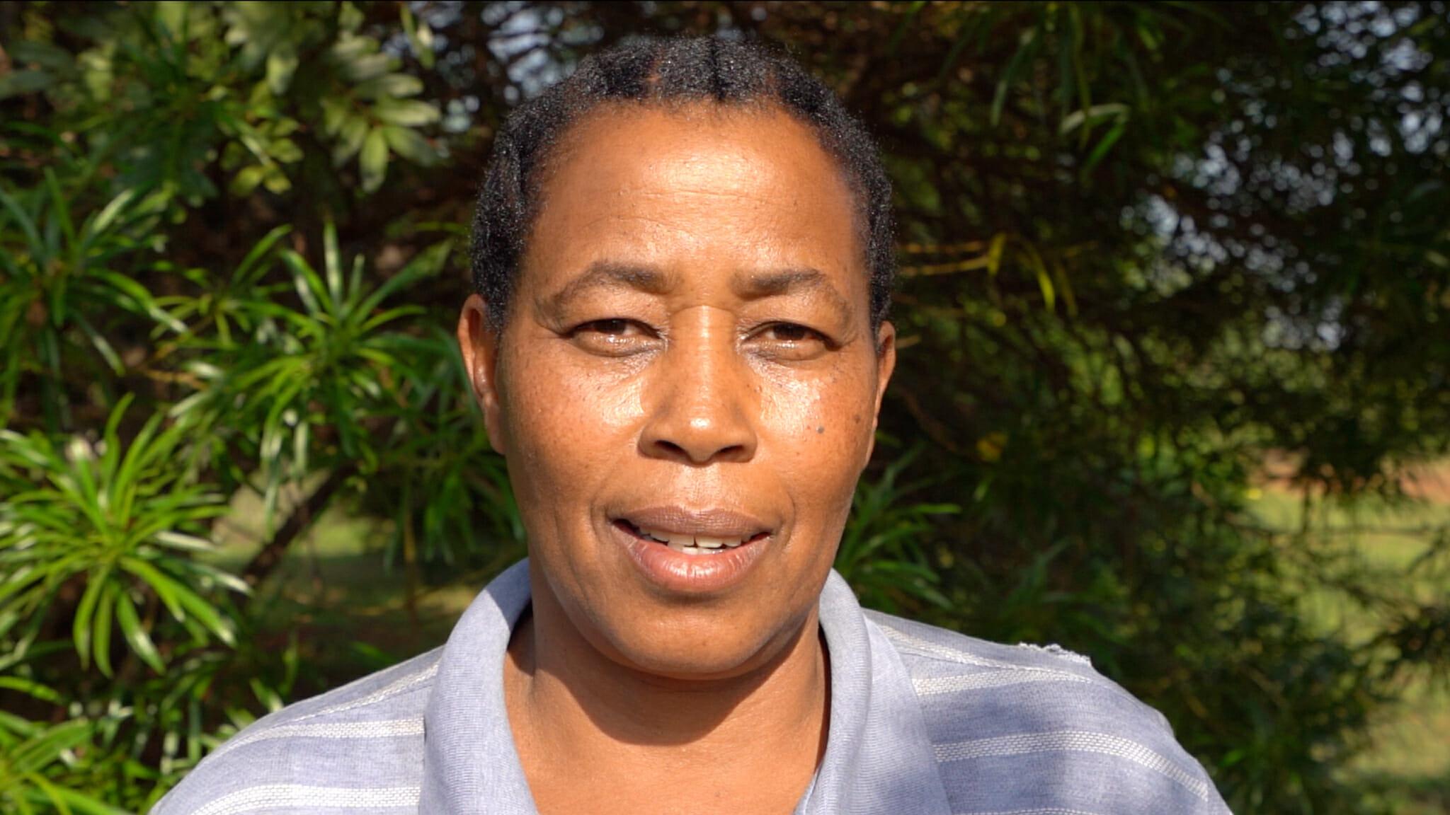 Mama Tandau lors de l'immersion dans le village d'Endallah en Tanzanie