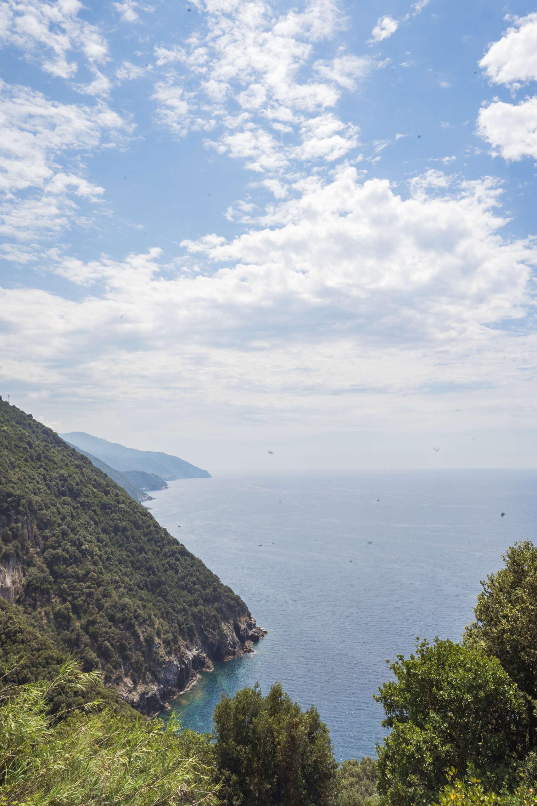 vue sur Monterosso al Mare