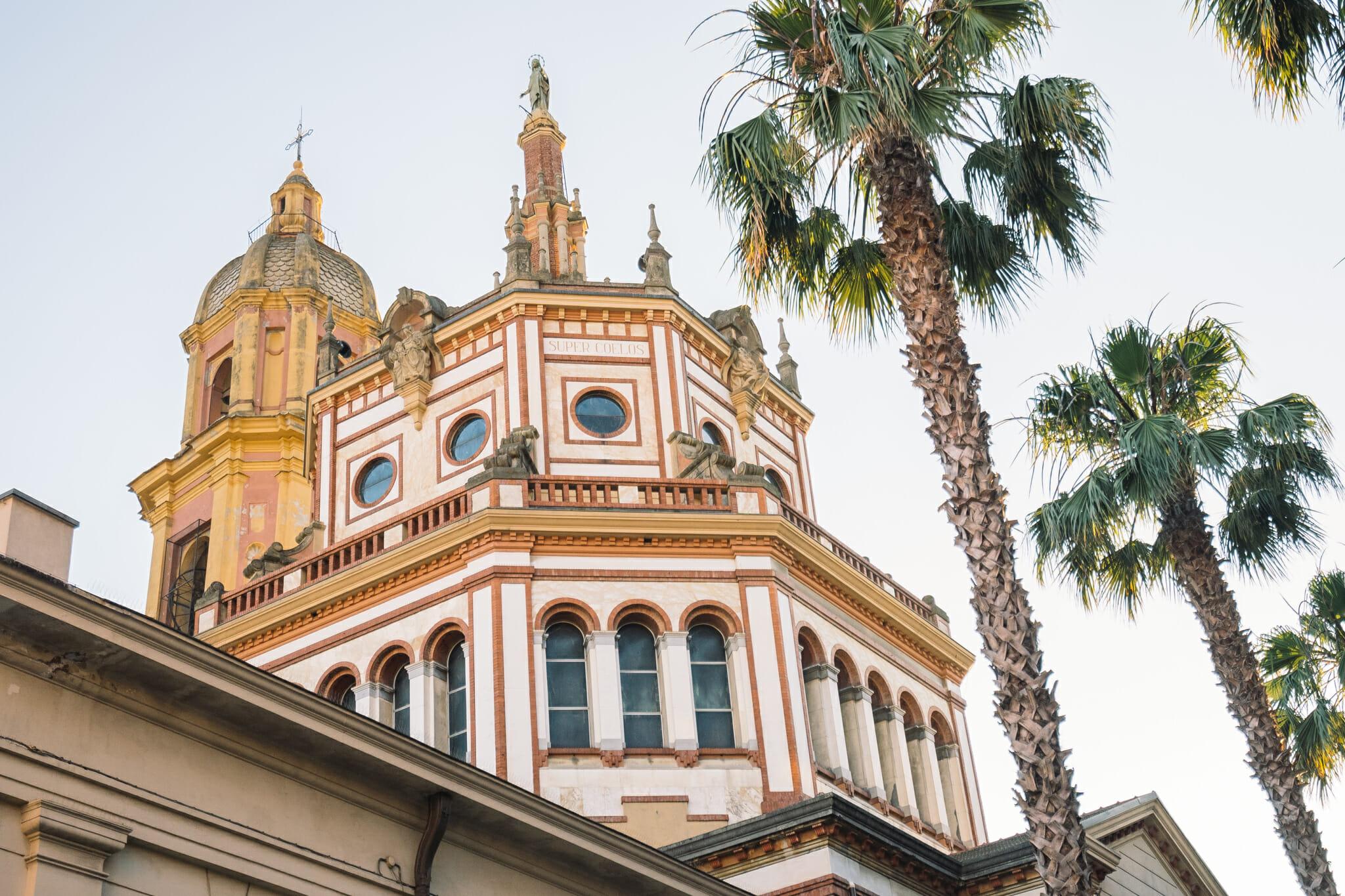 Promenade autour de Sanremo en Italie
