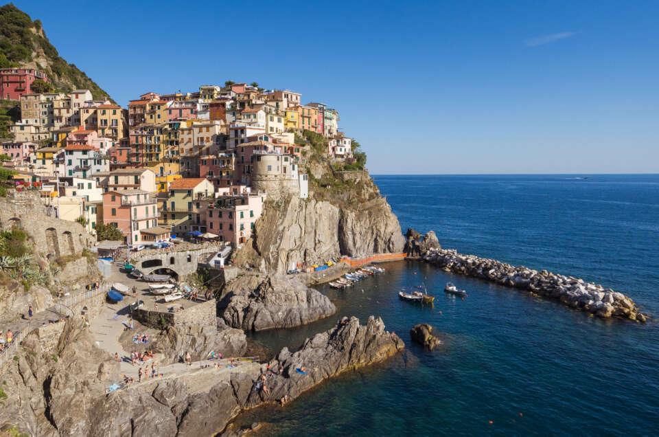 vue sur le village Riomaggiore