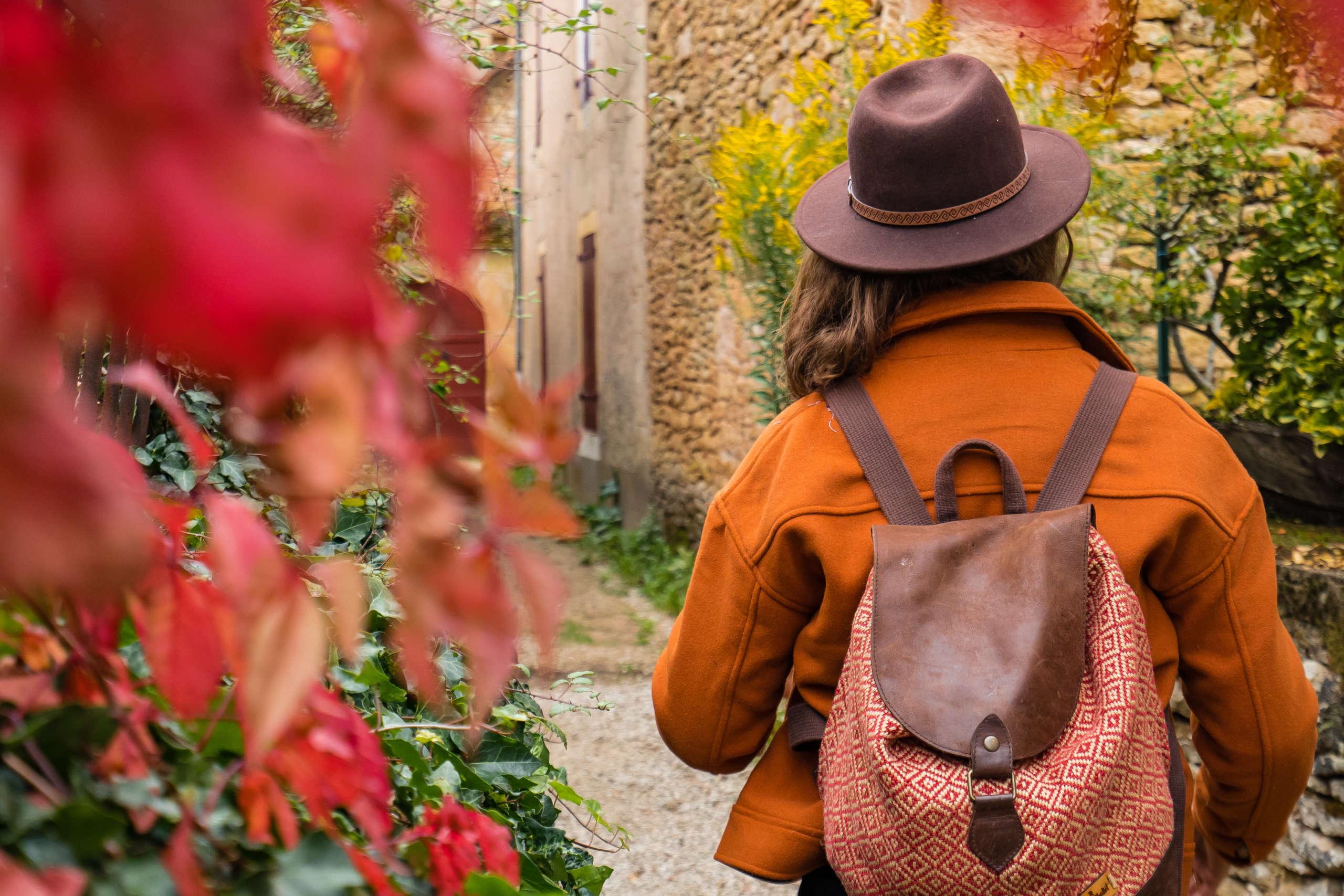 Visite d'un des plus beaux villages de France, St léon sur vézère