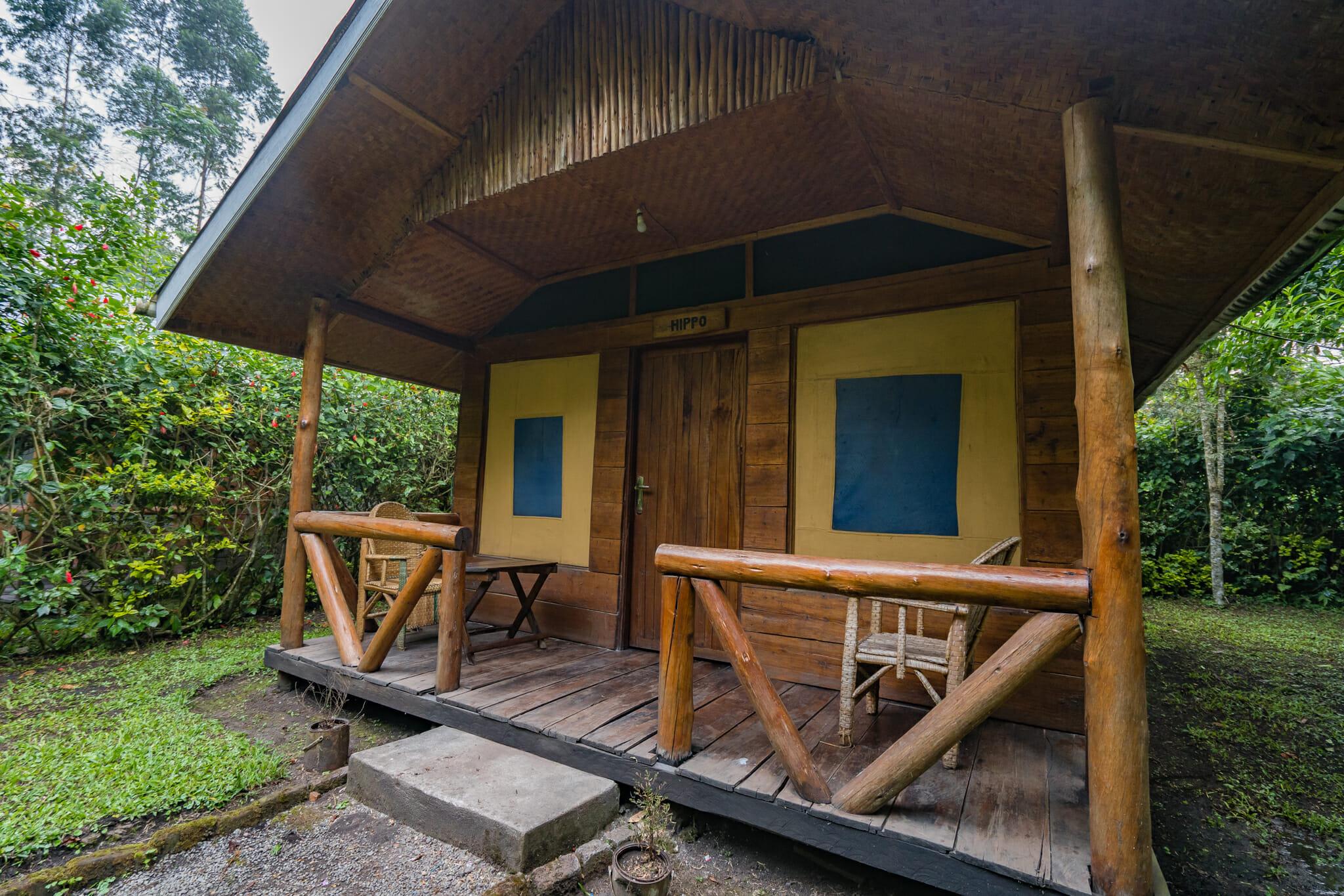 Cabane de la chambre du Rweetera park à kibale