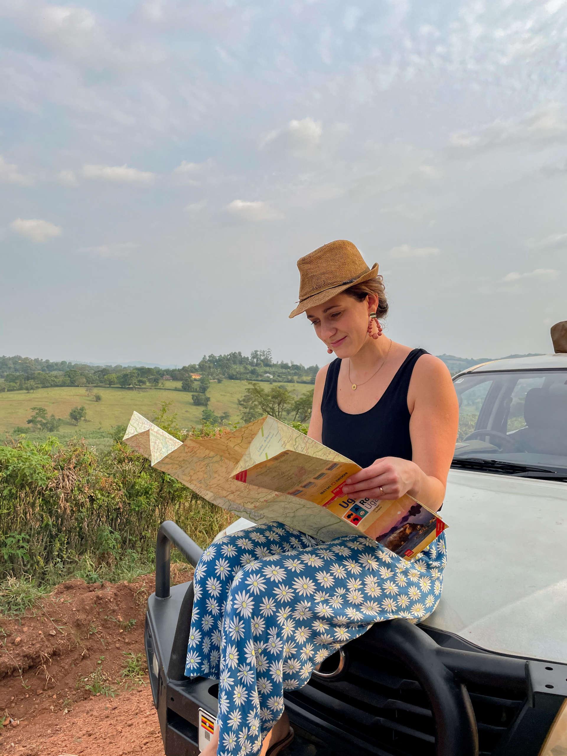 road trip en ouganda et découverte du parcours